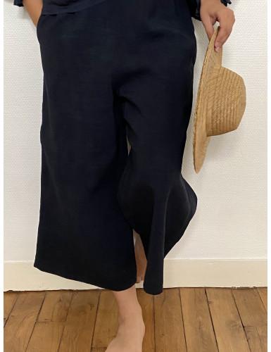 Le Pantalon Joce en Lin...