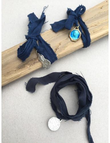 bracelet miraculeux bleu...
