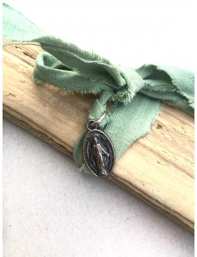 bracelet miraculeux vert sauge
