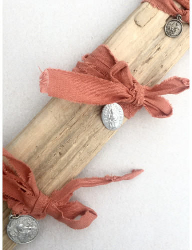 bracelet miraculeux terracotta